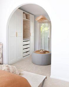 Modern Home Interior Design, Modern House Design, Interior Design Living Room, Dream Home Design, Ikea Wardrobe Hack, Modern Room, Modern Living, Home Remodeling, New Homes