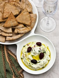 Gorgeous! And you know how we love olives... // Feta Cheese Dip @Sommer | A Spicy Perspective #greek #calamata #appetizer