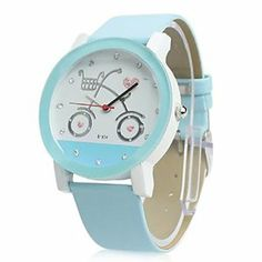 Tanboo Women's Pu Leather Band Analog Quartz Wrist Watch (Blue) by Tanboo. $10.99. Casual Watches. Women's Watche. Wrist Watches. Gender:Women'sMovement:QuartzDisplay:AnalogStyle:Wrist WatchesType:Casual WatchesBand Material:PU, LeatherBand Color:BlackCase Diameter Approx (cm):4Case Thickness Approx (cm):1.5Band Length Approx (cm):24Band Width Approx (cm):2