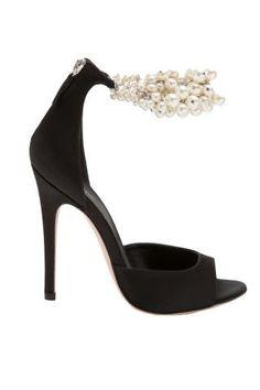 Giambattista Valli Embellished Ankle Sandal, $995; farfetch.com