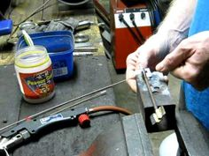 How to bronze braze with LPG or butane gas
