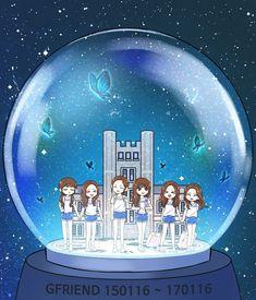 Gfriend - fanart - 5 - Page 2 - Wattpad Sinb Gfriend, Gfriend Sowon, Art Hoe Aesthetic, Fandom, Summer Rain, G Friend, Kpop Fanart, Mamamoo, Chibi