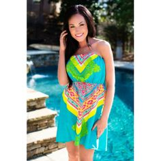 """Summer Delights Dress enter SOFLAGRL under """"view cart"""" for a discount"""