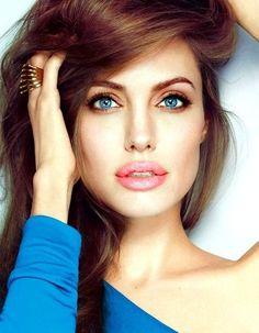 Angelina Jolie natural makeup