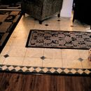 don't need this for flooring....but might come in handy for another application.  Faux Marble Flooring