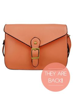 IT BAG | SALMON CROSS SATCHEL