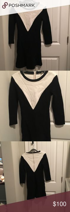 Sandro dress Very comfortable. Perfect work dress! Only worn once Sandro Dresses Long Sleeve