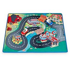 Mickey Mouse Clubhouse Playmat and Vehicles Play Set | Disney Store They'll have fun driving around town with Mickey and Donald. The two friends take their cars for a  trip away from the Clubhouse with this Playmat and Vehicles Play Set, passing the Diner and fruit stand, on their way to get some gas.