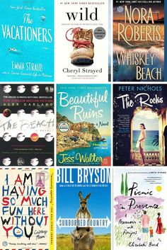 Books to escape with this summer #summerreading