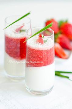 Strawberry-Coconut Verrines