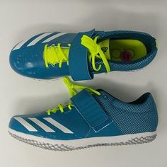 best sneakers fc974 0ef02 Adidas Adizero HJ High Jump Spikes Shoes Mystery Petrol Sz 11 ( BB3536 –  LoneSole Spike