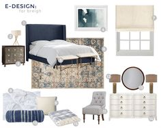 EDesign_Breigh_Blue and Cream_Moodboard_numbered