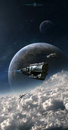 Orbital Patrol 2 by ~Camille-Besneville on deviantART