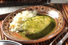 Pechugas de pollo en salsa de cilantro | Cocina y Comparte | Recetas de Cocina al Natural