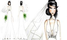 Amor à Vida: confira o vestido que Aline usará em seu casamento com César - Tá na moda - Moda - MdeMulher - Editora Abril