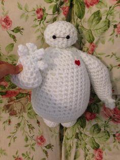 Baymax (Big Hero 6) By Miya Chan (Miyachan's Creations) #baymax #bighero6 #amigurumi #crochet