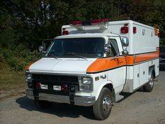1979 Chevy 1 Ton Ambulance