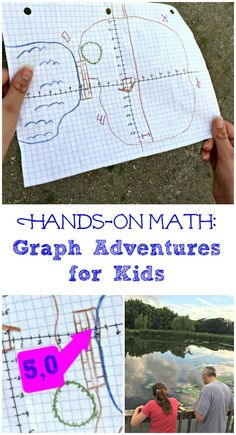 LOVE this hands-on math activity -- go on a math adventure by finding points on a graph! Great STEM activity