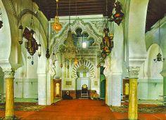 Interior de la Mezquita Mayor de Tremecen, Algeria. Levantada en 1082 por Yusuf ibn Tasufin -1.