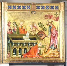 Noli me tangere, 1330-1331, Master of the Verdun Altar, Vienna