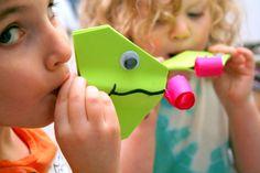 Chameleon tongue toys DIY