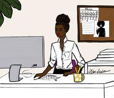 5 Top African Fashions for Men – Designer Fashion Tips Black Love Art, Black Girl Art, Black Is Beautiful, Black Girl Magic, Art Girl, Beautiful Things, Black Art Pictures, Black Artwork, Woman Illustration