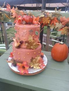 My version of a fall cake
