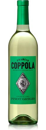 Francis Coppola's Diamond Collection wines are classic California expressions that offer fruit-forward, multi-dimensional flavor and immediate drinkability. The Pinot Grigio is affordable and with a quality to make for an extremely alluring wine.