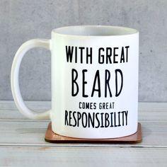 Sooo Mr. Cave... 'great beard' man mug by oakdene designs | notonthehighstreet.com