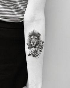 Cool lion design by Drag Ink