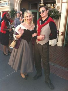 disney bounding- awesome take on prince philip & briar rose dapper day Disney Cosplay, Disney Costumes, Dapper Day Disneyland, Disney Dapper Day, Disneyland Ideas, Disneybound Outfits, Disney Outfits, Dapper Day Outfits, Cute Outfits