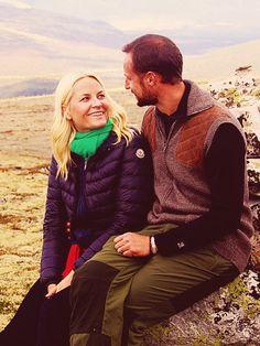 Crown Prince Haakon and Crown Princess Mette-Marit of Norway (via Royal Rumormonger)