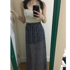 Abercrombie & fitch Maxi skirt Brand new Maxi skirt Xs Abercrombie & Fitch Skirts Maxi