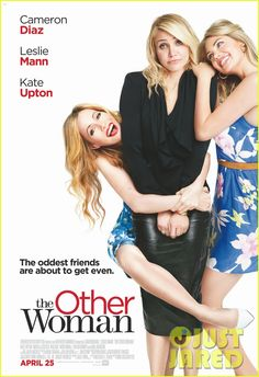 Cameron Diaz Gets Silly with Kate Upton  Leslie Mann on 'The Other Woman' Poster (Exclusive) | cameron diaz other woman poster exclusive - ...