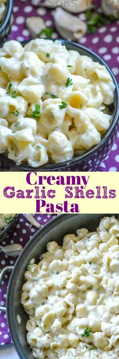 Shell-shaped pasta is tossed in a creamy white garlic cheese sauce for an amazing experience. The best part? This Creamy Garlic Shells Pasta recipe doesn't require any kind of packet and is ready in less than 15 minutes.