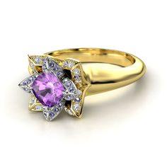tangled engagement ring