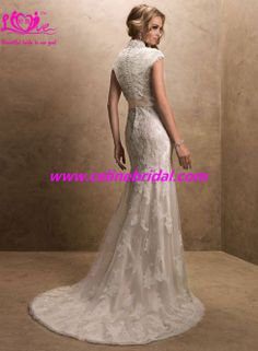 Made In USA Maggie Stunning Sparkle Casual luxury Celebrity unique glamorous Lace Formal Destination Bridal gown Wedding Dress