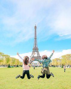 이거지ㅠㅠ우리가 꿈꾸던 사진  #인생사진 #여행스타그램  #프랑스 #파리 #paris #effeltower  #점프샷 #스냅사진 #메르시스냅