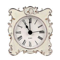 8 Vanity Clock Ideas Clock Table Clock Tabletop Clocks