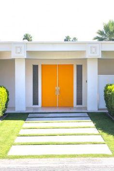 Orange Doors!
