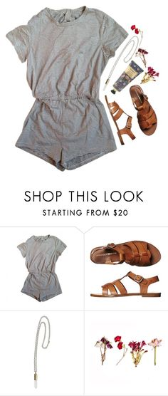 """""""// A wrinkle in Time //"""" by jordanawarren ❤ liked on Polyvore featuring American Apparel, Windsor Smith, William Morris, women's clothing, women, female, woman, misses and juniors"""