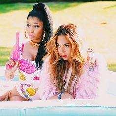 Voici le nouveau vidéoclip de Nicki Minaj et Beyoncé pour Feeling Myself | HollywoodPQ.com