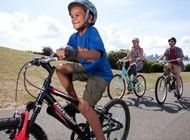 Great ideas on this vid for teaching kids to ride without training wheels by removing their pedals and lowering their seats (like a scoot bike) before letting them try without training wheels