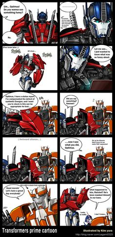 Transformers Prime cartoon -2 by GoddessMechanic on DeviantArt