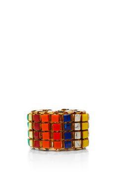 Lee Angel X Rosie Assoulin Semi-Precious Brights Box Chain Bracelet by Rosie Assoulin