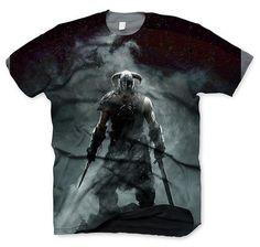 The Elder Scrolls V Skyrim T-Shirt Dragonborn. Hier bei www.closeup.de