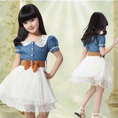 vestidos para niñas de 10 años sencillos - Buscar con Google
