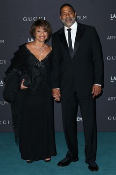 Can we get a slow clap for this grown folks love - Debbi Allen and husband Norm Nixon
