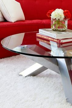 From hautelook.. I like the glass top and geometric look of the base.