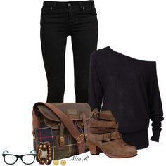 """Plaid Shoes & Bags"" by mz-happy on Polyvore"